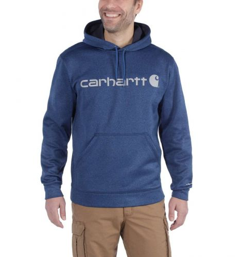 Bluza Carhartt Force Extremes® Signature Graphic Hooded Sweatshirt HURON HEATHER
