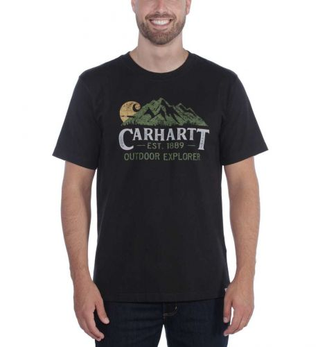 Koszulka Carhartt Workwear Explorer Graphic T-Shirt BLACK