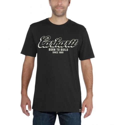 Koszulka Carhartt Maddock Born To Build Graphic T-Shirt BLACK