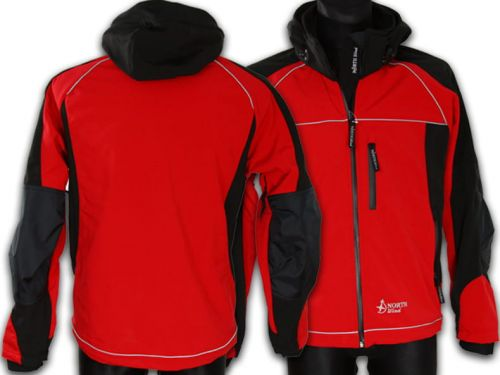 Kurtka Softshell North-Wind Reflight czerwona