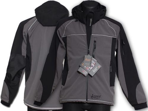 Kurtka Softshell North-Wind Reflight grafitowa
