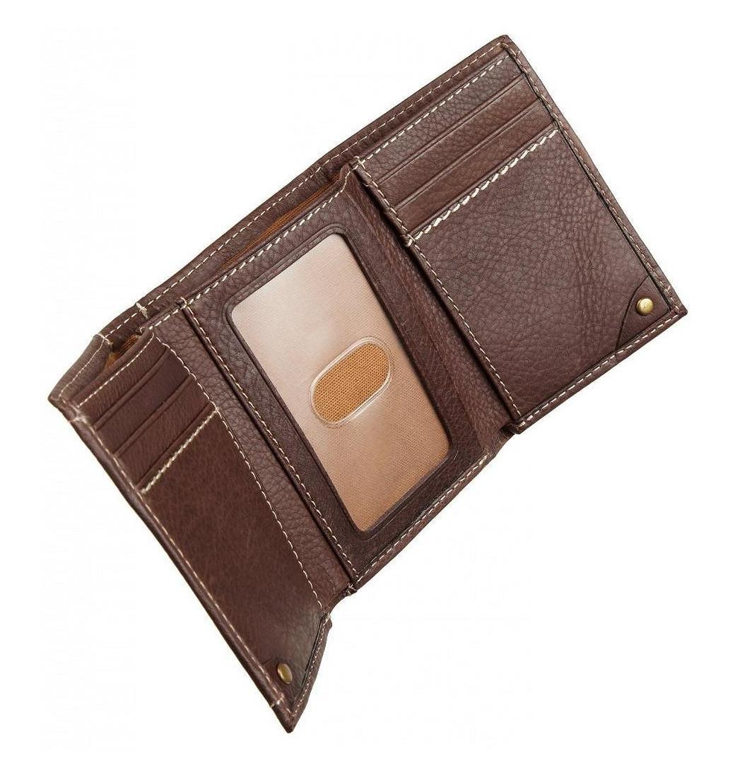 8e6101af2d4ee Portfel Carhartt Tri Fold Wallet brown RATUJESZ.pl